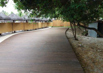 deck em mosso bambu