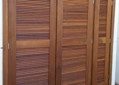 portas venezianas para shaft